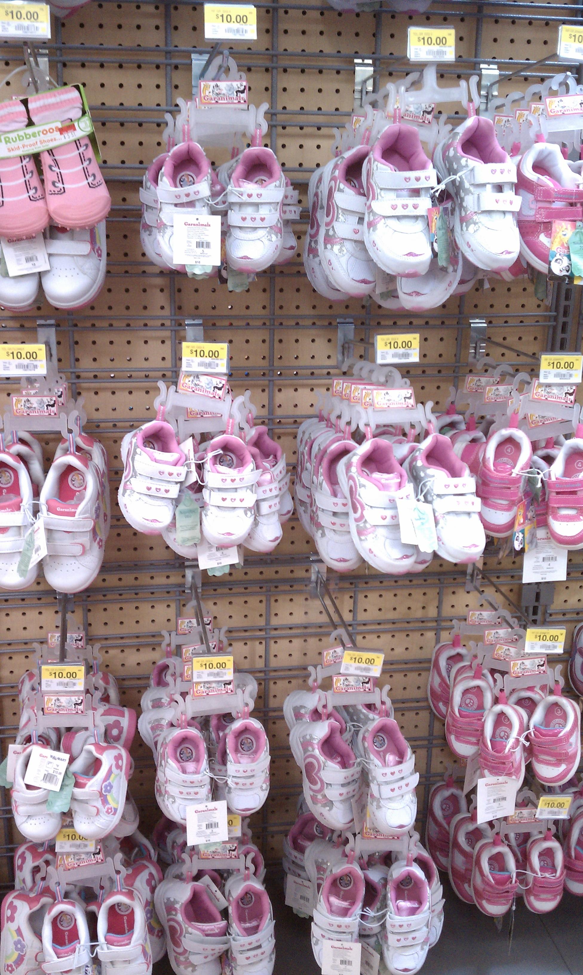 Walmart Kids Light Blue Sparkly Light Up Shoes